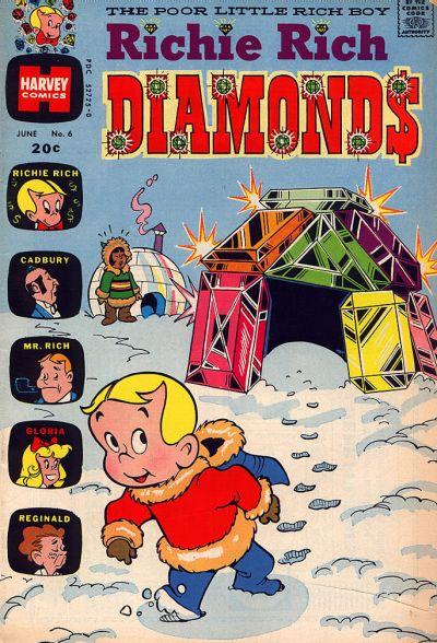 Cover for Richie Rich Diamonds (Harvey, 1972 series) #6