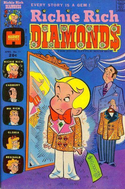 Cover for Richie Rich Diamonds (Harvey, 1972 series) #11