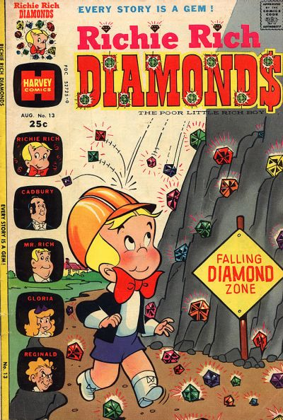 Cover for Richie Rich Diamonds (Harvey, 1972 series) #13