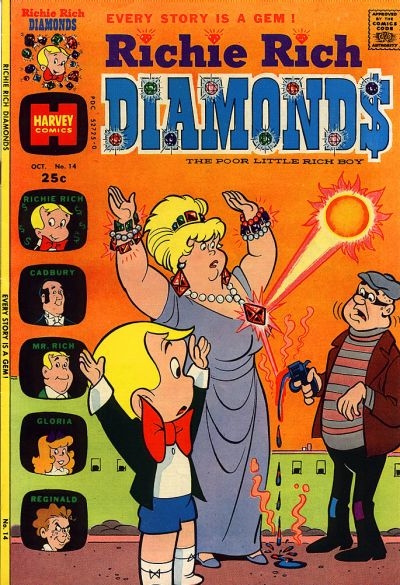 Cover for Richie Rich Diamonds (Harvey, 1972 series) #14