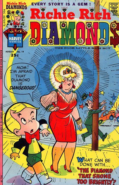 Cover for Richie Rich Diamonds (Harvey, 1972 series) #19