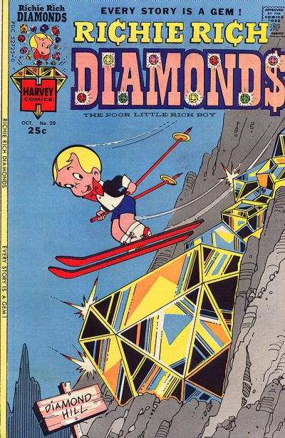 Cover for Richie Rich Diamonds (Harvey, 1972 series) #20