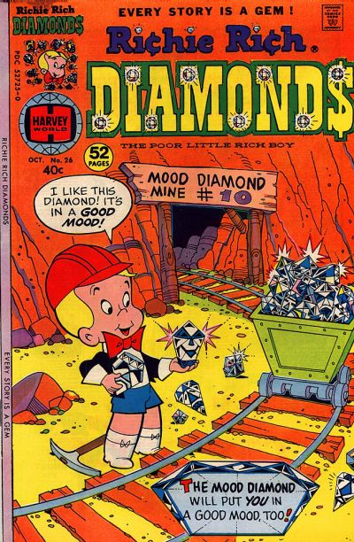 Cover for Richie Rich Diamonds (Harvey, 1972 series) #26
