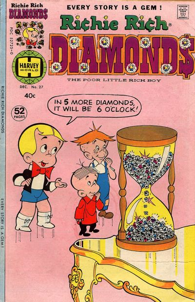 Cover for Richie Rich Diamonds (Harvey, 1972 series) #27