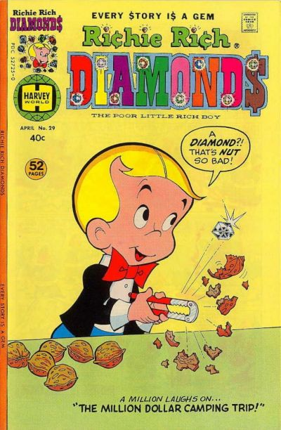 Cover for Richie Rich Diamonds (Harvey, 1972 series) #29