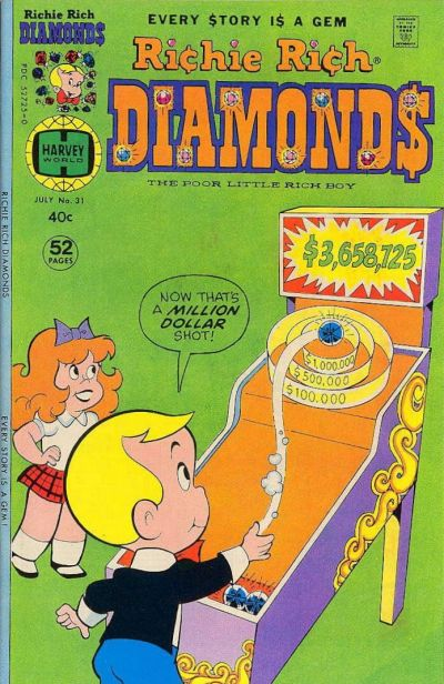 Cover for Richie Rich Diamonds (Harvey, 1972 series) #31