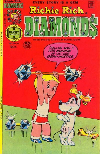 Cover for Richie Rich Diamonds (Harvey, 1972 series) #33