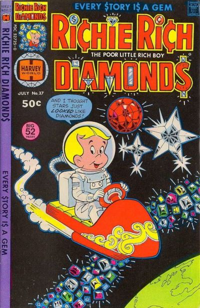 Cover for Richie Rich Diamonds (Harvey, 1972 series) #37