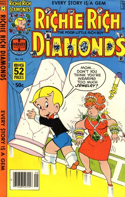 Cover for Richie Rich Diamonds (Harvey, 1972 series) #38