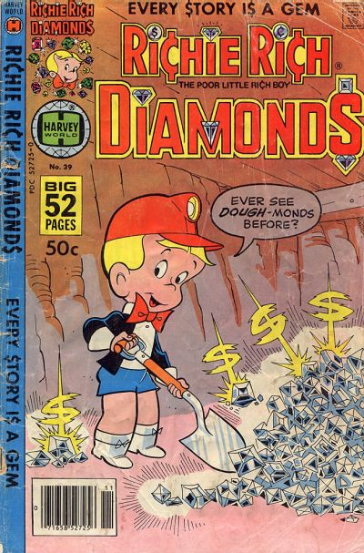 Cover for Richie Rich Diamonds (Harvey, 1972 series) #39
