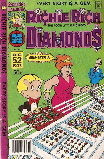 Cover for Richie Rich Diamonds (Harvey, 1972 series) #40
