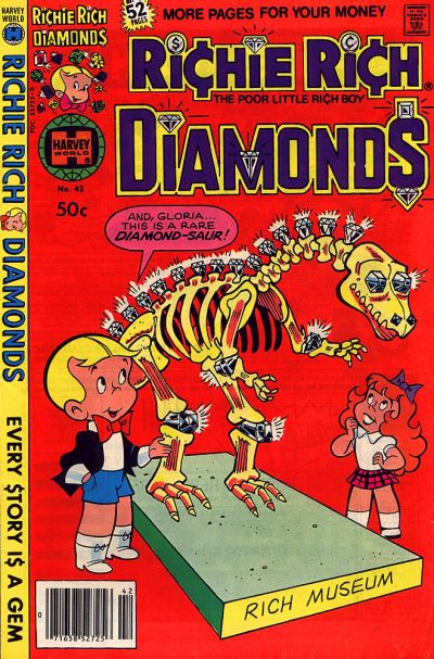Cover for Richie Rich Diamonds (Harvey, 1972 series) #42
