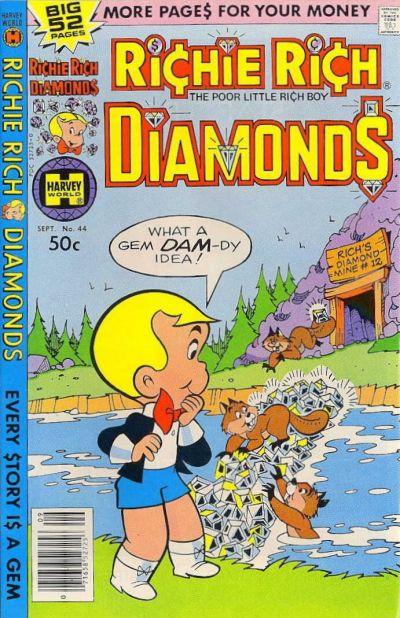 Cover for Richie Rich Diamonds (Harvey, 1972 series) #44