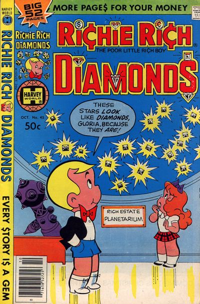 Cover for Richie Rich Diamonds (Harvey, 1972 series) #45