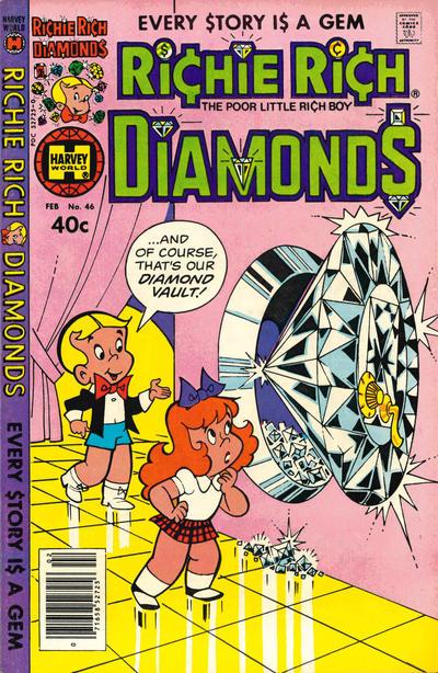 Cover for Richie Rich Diamonds (Harvey, 1972 series) #46