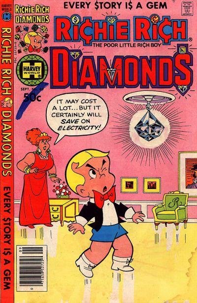 Cover for Richie Rich Diamonds (Harvey, 1972 series) #49