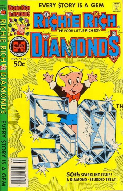 Cover for Richie Rich Diamonds (Harvey, 1972 series) #50