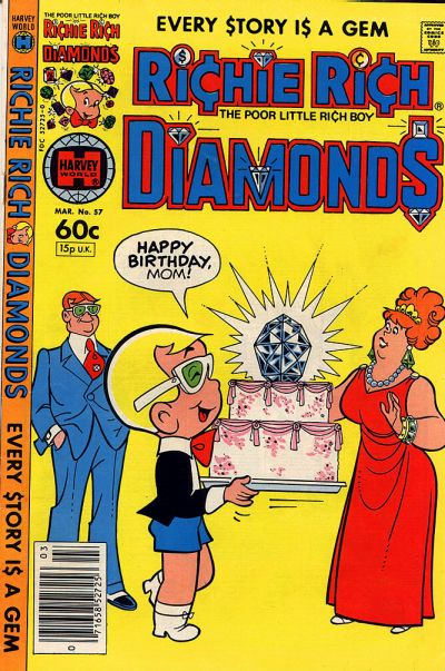 Cover for Richie Rich Diamonds (Harvey, 1972 series) #57