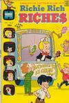 Cover for Richie Rich Riches (Harvey, 1972 series) #2
