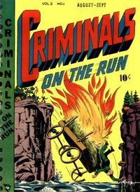 Cover Thumbnail for Criminals on the Run (Novelty / Premium / Curtis, 1948 series) #v5#1
