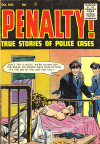 Cover Thumbnail for Penalty (Ace Magazines, 1955 series) #47