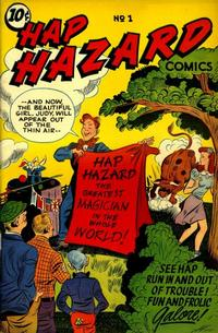 Cover Thumbnail for Hap Hazard Comics (Ace Magazines, 1944 series) #1