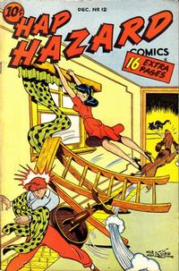 Cover Thumbnail for Hap Hazard Comics (Ace Magazines, 1944 series) #12