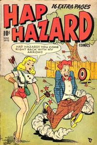 Cover Thumbnail for Hap Hazard Comics (Ace Magazines, 1944 series) #19