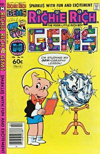 Cover Thumbnail for Richie Rich Gems (Harvey, 1974 series) #40