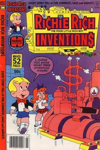 Cover Thumbnail for Richie Rich Inventions (Harvey, 1977 series) #3