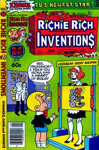 Cover Thumbnail for Richie Rich Inventions (Harvey, 1977 series) #24