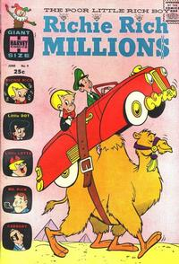Cover Thumbnail for Richie Rich Millions (Harvey, 1961 series) #9