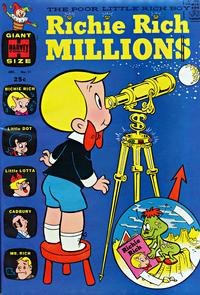Cover Thumbnail for Richie Rich Millions (Harvey, 1961 series) #11