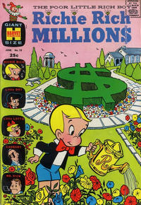 Cover Thumbnail for Richie Rich Millions (Harvey, 1961 series) #13