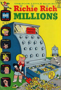 Cover Thumbnail for Richie Rich Millions (Harvey, 1961 series) #15