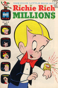 Cover Thumbnail for Richie Rich Millions (Harvey, 1961 series) #20