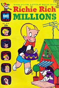 Cover Thumbnail for Richie Rich Millions (Harvey, 1961 series) #21