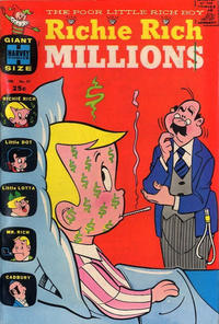Cover Thumbnail for Richie Rich Millions (Harvey, 1961 series) #27