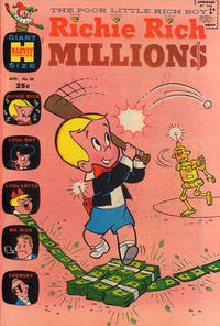 Cover Thumbnail for Richie Rich Millions (Harvey, 1961 series) #30