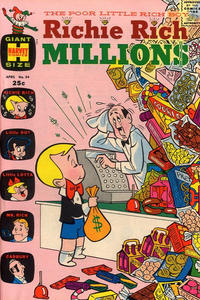 Cover Thumbnail for Richie Rich Millions (Harvey, 1961 series) #34