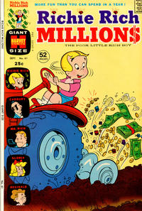 Cover Thumbnail for Richie Rich Millions (Harvey, 1961 series) #61