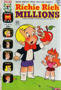 Cover Thumbnail for Richie Rich Millions (Harvey, 1961 series) #64