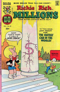 Cover Thumbnail for Richie Rich Millions (Harvey, 1961 series) #80