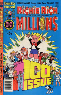 Cover Thumbnail for Richie Rich Millions (Harvey, 1961 series) #100