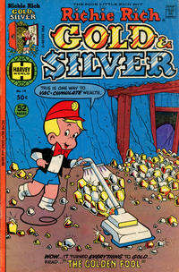Cover Thumbnail for Richie Rich Gold and Silver (Harvey, 1975 series) #14