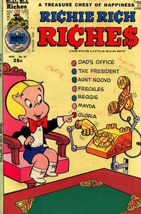Cover Thumbnail for Richie Rich Riches (Harvey, 1972 series) #21