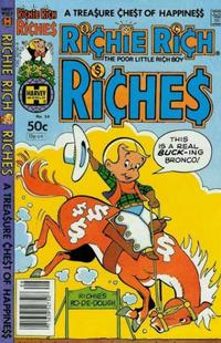 Cover Thumbnail for Richie Rich Riches (Harvey, 1972 series) #54