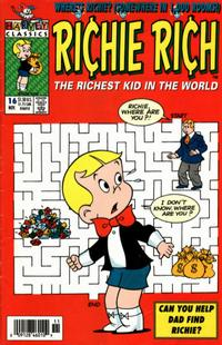 Cover Thumbnail for Richie Rich (Harvey, 1991 series) #16 [Newsstand]