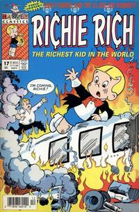 Cover Thumbnail for Richie Rich (Harvey, 1991 series) #17 [Newsstand]