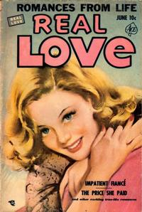 Cover Thumbnail for Real Love (Ace Magazines, 1949 series) #47